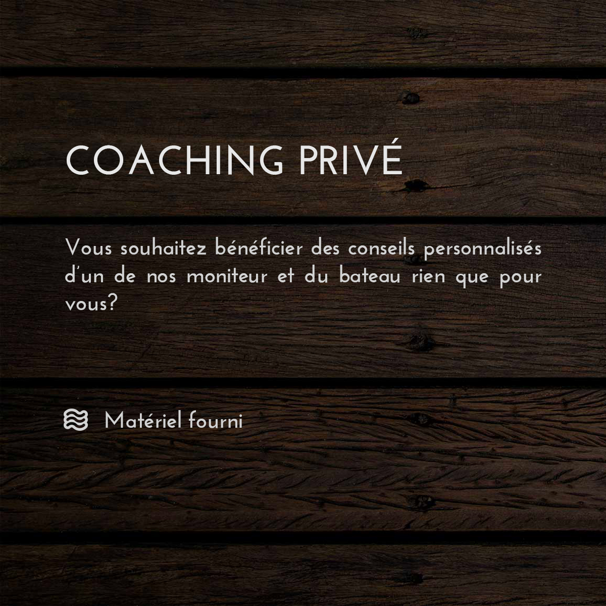 Coaching privé wakeboard