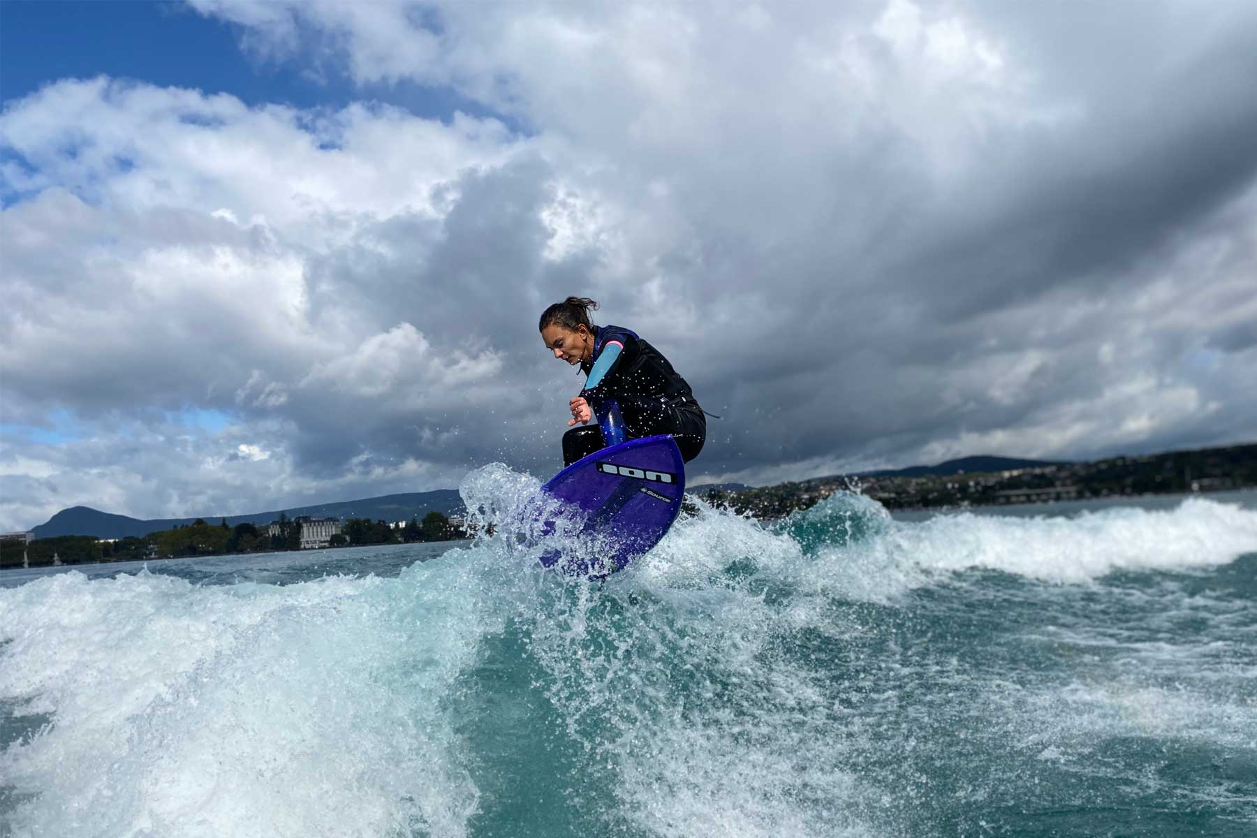 Wake Arena, cours de wakesurf à Annecy